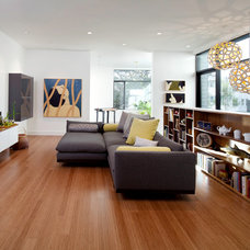 Modern Living Room by Three Legged Pig Design