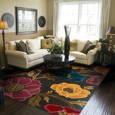 Asian Living Room by Oriental Weavers