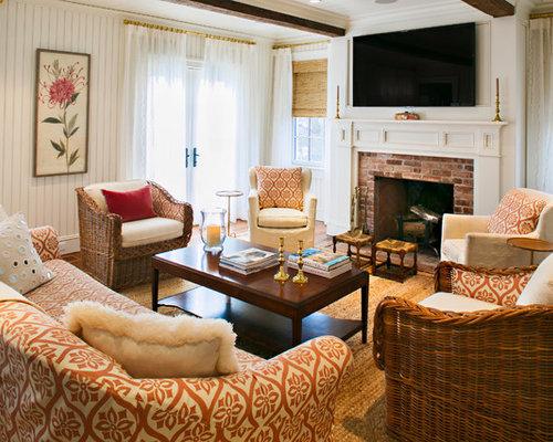 Wall Mounted Tv Fireplace Houzz