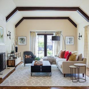 75 most popular transitional living room design ideas for - Transitional style living room ...