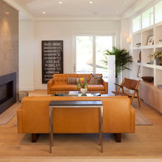 Contemporary Living Room by Elevation