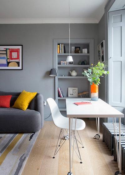 Contemporary Living Room by John Wilson Design