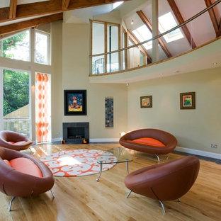 Edinburgh Contemporary New House Open Plan Living Room