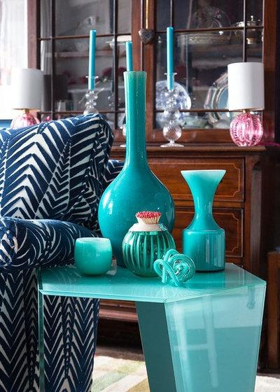 Eklektisk Vardagsrum by Jessica Buckley Interiors