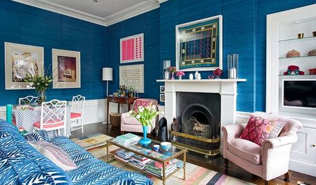 Houzz Tour: A Georgian Flat in Edinburgh Gets a Vibrant New Style
