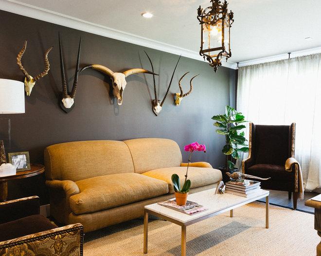 Eclectic Living Room by JONATHAN CALVERT | Interiors Photographer