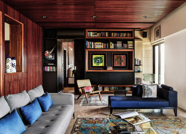 Contemporary Living Room by Fabien Charuau Photography