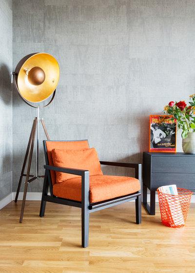 Modern Wohnbereich by Zulufish