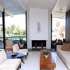 Midcentury Living Room by Himes Miller Design Inc.