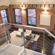 Modern Living Room by Eisner Design LLC