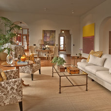 Mediterranean Living Room by Cabana Home