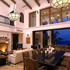 Eclectic Living Room by Estee Stanley Design