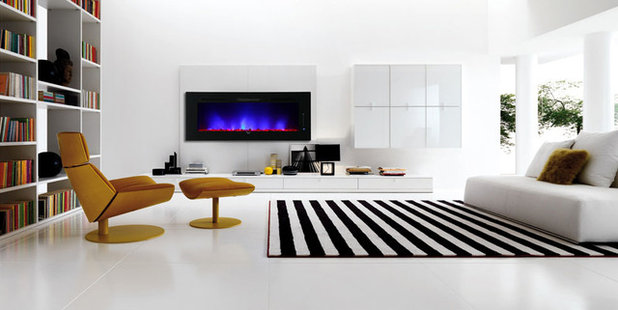 Eclectic Living Room by Notochord group Inc