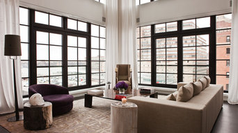 Electric shades and curtains_NYC luxury