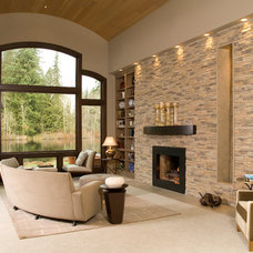 Transitional Living Room by eric gedney | ARCHITECT