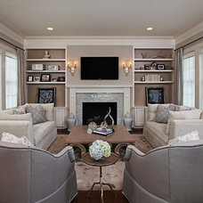 Traditional Living Room by Jane Spencer Designs