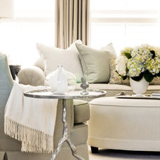Traditional Living Room by Kriste Michelini Interiors