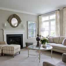 Traditional Living Room by lily mae design