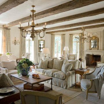 Elegant French Inspired Remodel & Addition