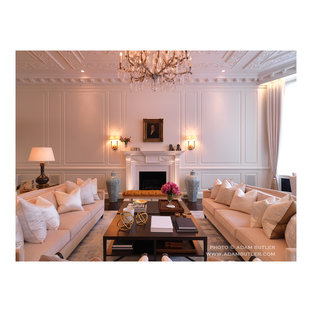 This is an example of a traditional living room in London.