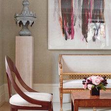 Traditional Living Room by Martha Angus Inc.