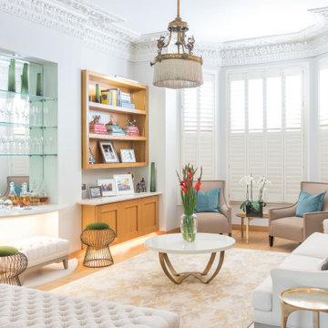 Elegant Living Room, Hampstead, London