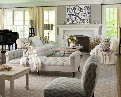 Tuscan Living Room Decorating | Houzz