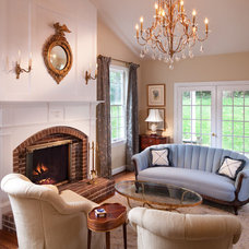 Traditional Living Room by Storybook Rooms, LLC