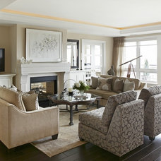 Living Room by Jacqueline Glass and Associates