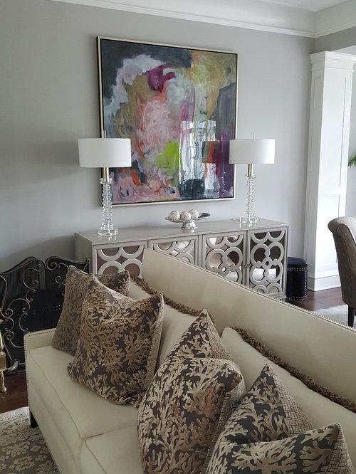 Modern Cedar Rapids Living Room Design Ideas Remodels