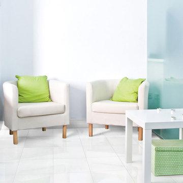 Elegant White Polished 12×12 Marble Tiles