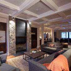 Contemporary Living Room by Spot Design, Inc.