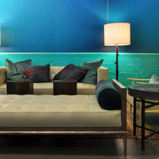 Contemporary Living Room Eleuthera Lounge by Laura Hunt Designs