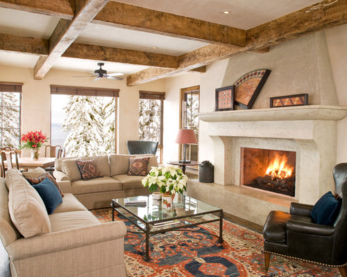 Western Living Room | Houzz