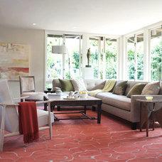 Modern Living Room by Cathleen Gouveia Design