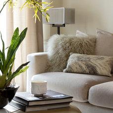 Contemporary Living Room by Stacy Vazquez-Abrams: Photographer