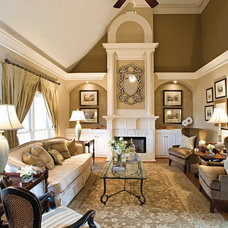 Traditional Living Room by Liv By Design Interiors