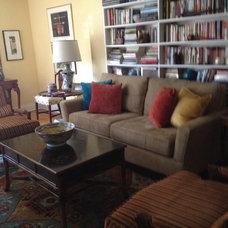 Eclectic Living Room Elsa Kimak