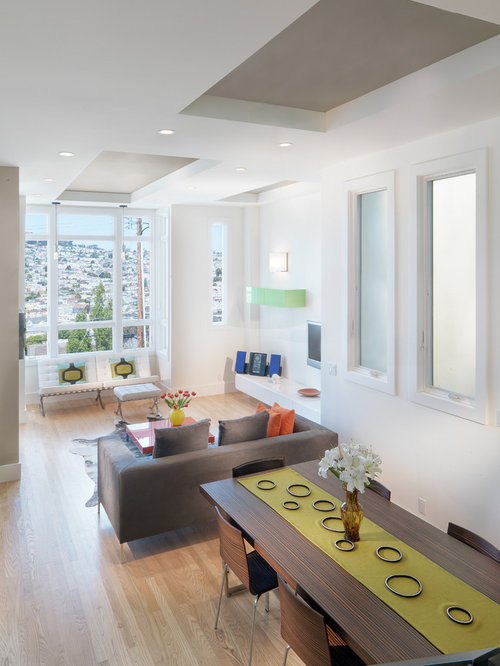 Long narrow living room houzz for How to design a long narrow living room