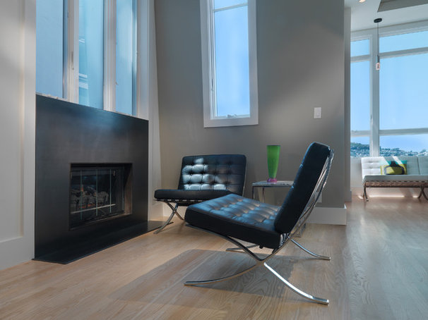 Contemporary Living Room by Rossington Architecture