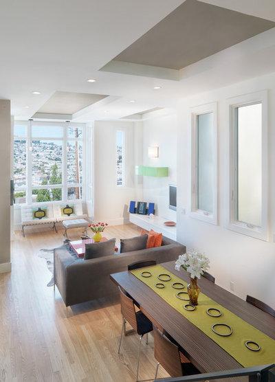 Moderne Salon by Rossington Architecture