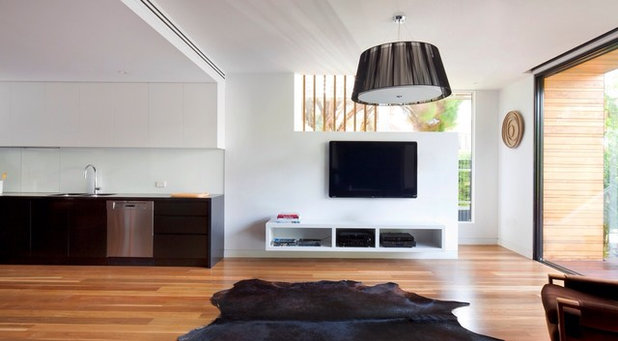 Contemporary Living Room by Simon Couchman Architects