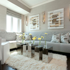 contemporary living room by anthony michael interior design, ltd