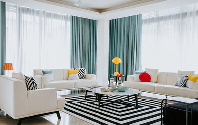 Bangalore Houzz: Bursts of Colour Makes This a Happy Holiday Home