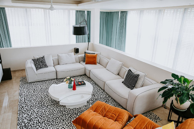 Contemporary Living Room by Shalini George Interiors
