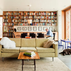 Modern Family Room by Sparano + Mooney Architecture