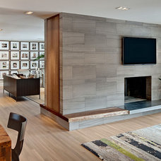 Contemporary Living Room by Peterssen/Keller Architecture