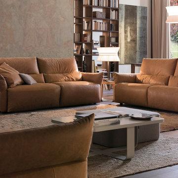 Emma 966E Reclining Sofa Set by Chateau d'Ax   MIG Furniture