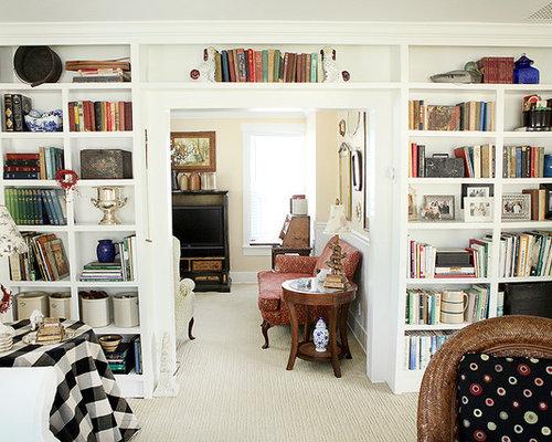 Bookshelves Living Room. 22 Interesting Ways to Add Bookshelves in ...