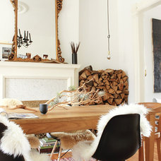 Eclectic Living Room by The Marion House Book